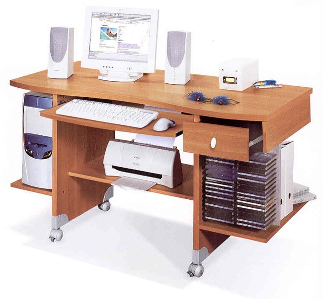 Great scrivania porta computer with accessori scrivania for Accessori da ufficio design