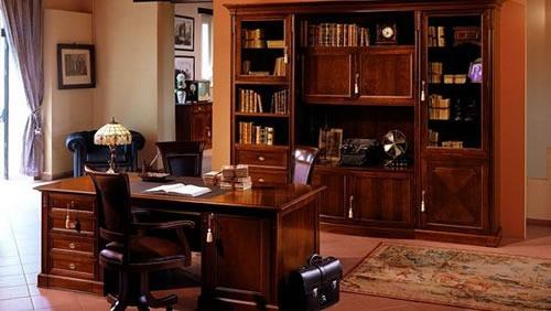 Ufficio Stile Moderno : Stile arredo ufficio antico legno calore eleganza