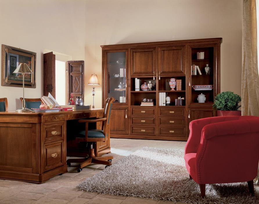 Free arredo ufficio classico with mobili per studio for Mobili da studio