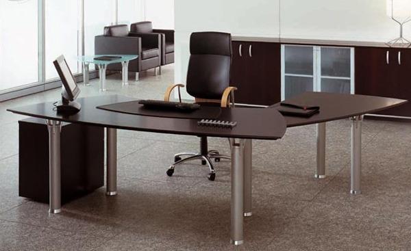 Stile arredo moderno ufficio elegante essenziale geometrico for Arredamento moderno elegante