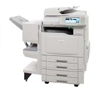 macchine da ufficio: computer, stampante, fotocopiatrice, fax