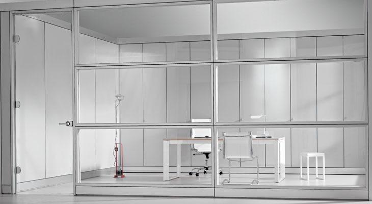 Eccezionale pareti ufficio: divisorie, fonoassorbenti, fonoisolanti  NC19