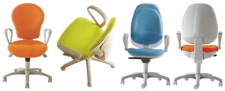 Sedie Per Scrivania Colorate.Sedie Operative Ufficio Ruote Regolazione Piccole Dimensioni