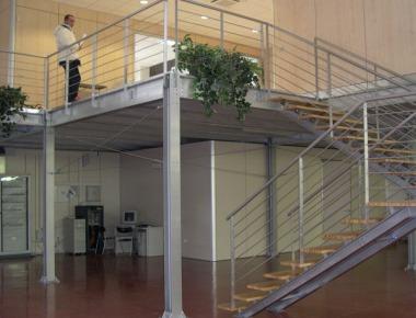 Soppalco ufficio